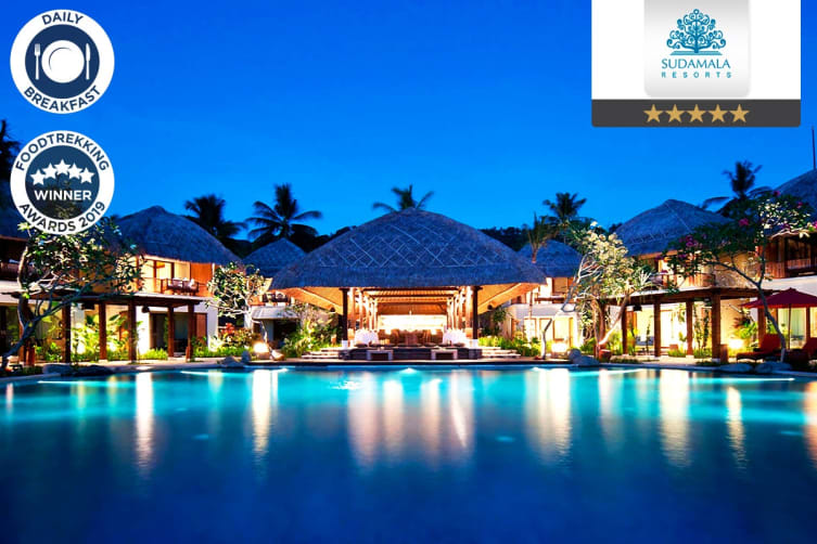 LOMBOK: 4 Nights at Sudamala Suites & Villas for Two (Ocean Suite)