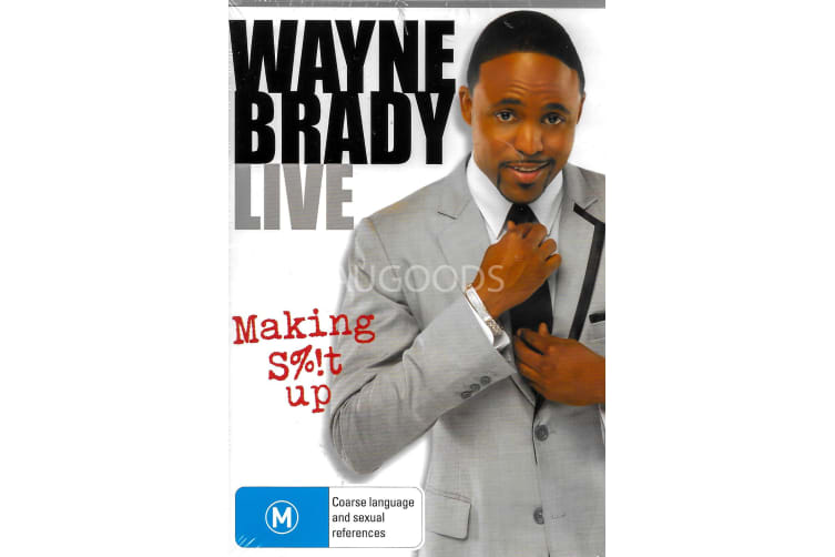 WAYNE BRADY: MAKING S%!T UP - Series Region 4 Rare- Aus Stock Preowned DVD: DISC LIKE NEW