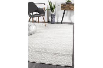 Amelia Grey & Bone Ivory Scandi Durable Rug
