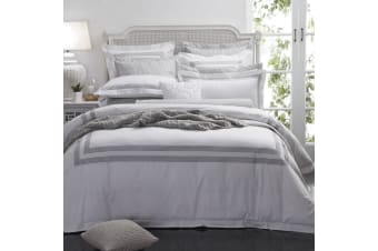 Cambridge White Quilt Cover Set by Private Collection