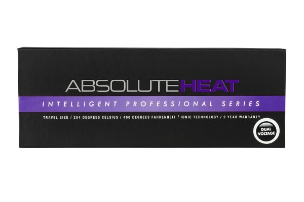 AbsoluteHeat Mini Straightener - Purple (900108)