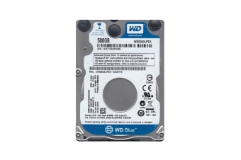 WD Blue 500GB SATA III 2.5-inch Internal Mobile Hard Drive (WD5000LPCX)