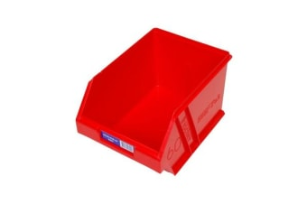 Fischer Plastic Medium Storage Drawer Red
