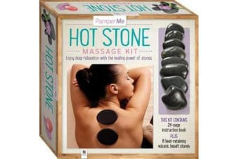 Pamper Me Hot Stone Massage Kit (tuck box)