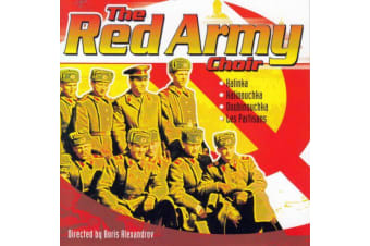 THE RED ARMY CHOIR - BRAND NEW SEALED MUSIC ALBUM CD - AU STOCK