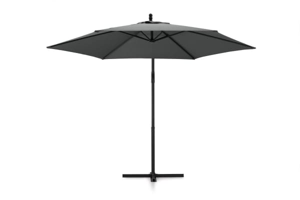 Komodo Outdoor Cantilever Umbrella (Charcoal)