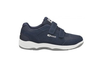 Gola Mens Belmont Suede Wide Fit Trainers (Navy)
