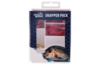 Jarvis Walker 70 Piece Snapper Fishing Pack - Assorted Fishing Tackle Kit