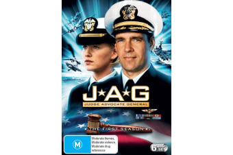 JAG The Complete First Season 1 DVD Region 4