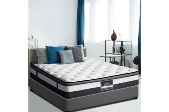 Giselle KING Mattress Bed Size Euro Top Pocket Spring Foam Plush Cashmere
