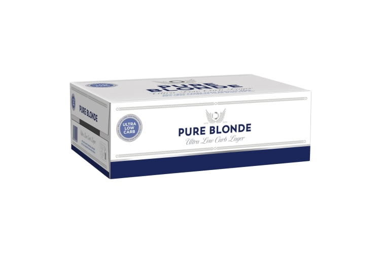 Pure Blonde Ultra Low Carb Beer 24 x 375mL Cans