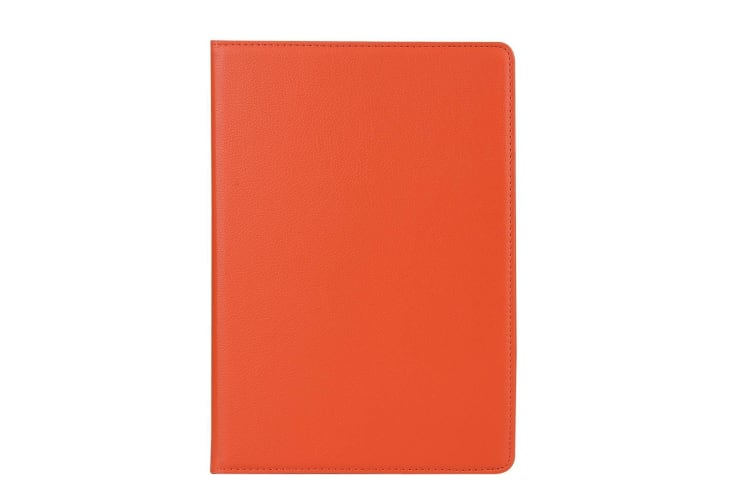 For iPad Air 3 (2019) Case Lychee Texture Stand PU Leather Folio Cover Orange