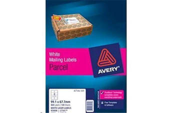 AVERY LASER LABEL L7165-100 100 SHEET