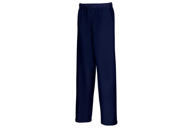 Fruit Of The Loom Mens Lightweight Jog Pant / Jogging Bottoms (Deep Navy) (2XL)