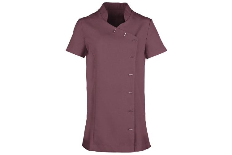 Premier Womens/Ladies *Orchid* Tunic / Health Beauty & Spa / Workwear (Aubergine) (14)