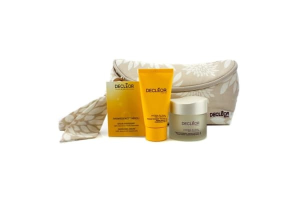 Decleor Hydra Floral Natural Beauty Collection: Cream + Mask + Aromessence Neroli + Bag (3pcs+1bag)