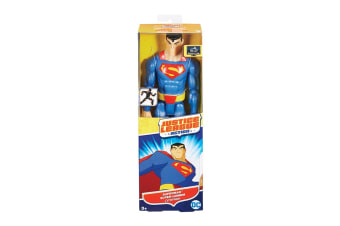 "Justice League Action 12"" Superman Figurine"