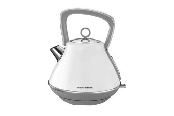 Morphy Richards Evoke Pyramid Kettle - White (100109)