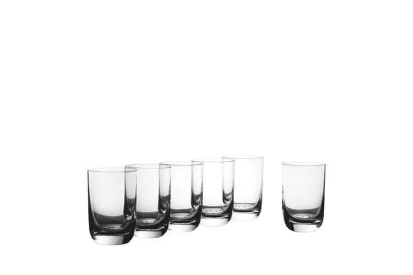 Krosno Pola Whiskey Glass 300ml Set of 6
