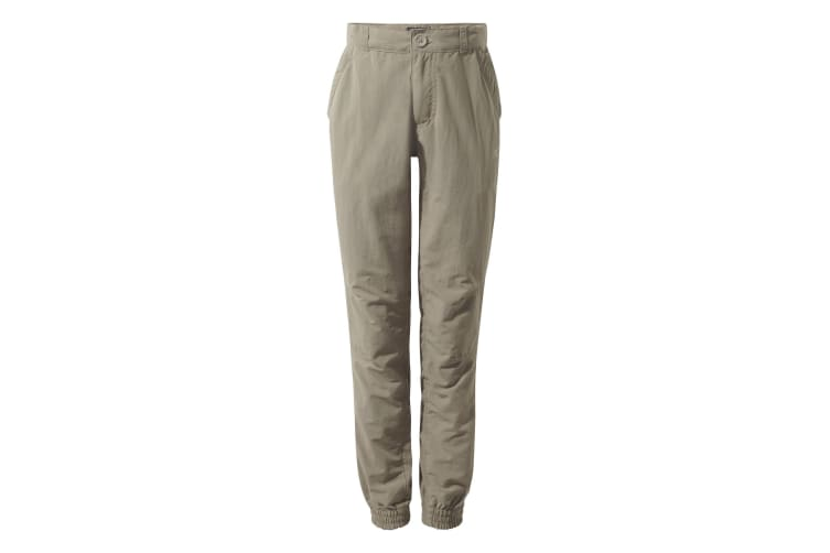 Craghoppers Childrens Unisex NosiLife Terrigal Trousers (Pebble) (9-10 Years)