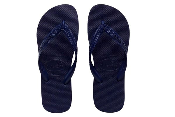 Havaianas Top Thongs (Navy Blue, Brazil 45/46)