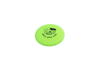 Large Dog Puppy Plastic Frisbee Fetch Flying Disc Training Toy Green 20Cm