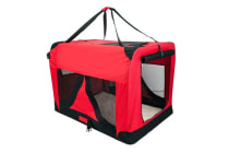 Portable Soft Dog Crate XXXL - RED