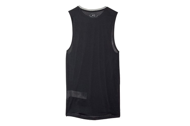 Under Armour Men's MK-1 Tank (Charcoal Light Heather/Stealth Gray, Size Medium)