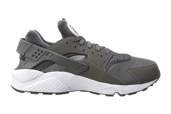 new arrival 44e34 1f557 Nike Men s Air Huarache Run Running Shoe (Dark Grey White, Size 9.5) -  Kogan.com