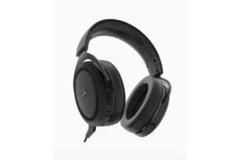 Corsair HS70 Wireless Gaming Headset Carbon. Up to 16hrs of Playback. PC and PS4 Compatible. 2 Years Warranty