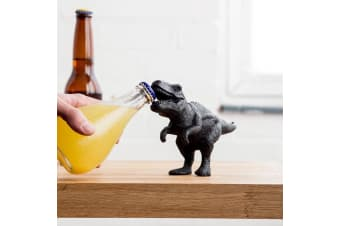 T-Rex Dinosaur Cast Iron Bottle Opener Paper Weight | Suck UK