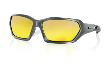 Carve Dealers Titanium Grey Iridium Mens Sunglasses
