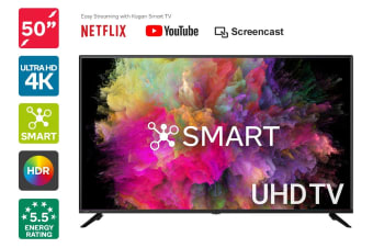 "Kogan 50"" Smart HDR 4K UHD LED TV (Series 8 RU8010)"