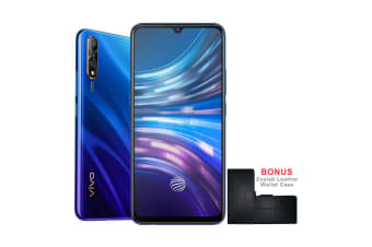 vivo S1 (Dual Sim 4G/4G, Bonus Leather Case, 128GB/6GB) - Cosmic Purple