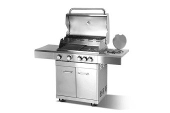 Grizze Stainless Steel 5 Burner BBQ Grill