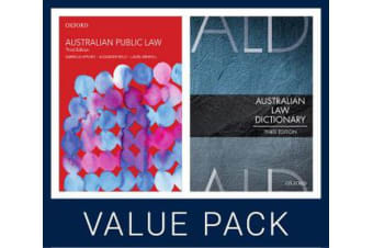 Australian Public Law 3e and Australian Law Dictionary 3e