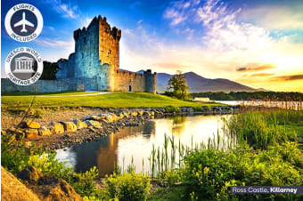 IRELAND: 10 Day Best of Ireland Tour Including Flights for Two