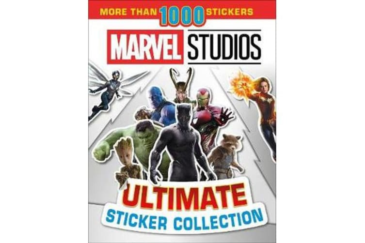 Marvel Studios Ultimate Sticker Collection - With more than 1000 stickers