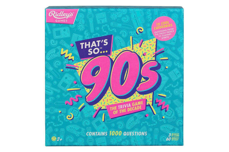 The Trivia Game of the Decade - Choose 80s or 90s - Nineties