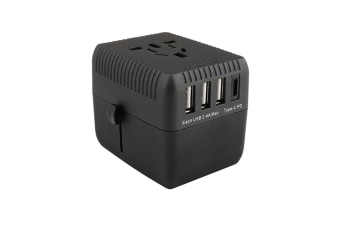 Select Mall Universal High Power PD Charger Conversion Plug Multi-power Universal Conversion Plug Socket Converter Plug