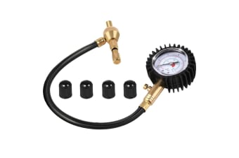 Rapid Tyre Deflator Air Deflators 4WD 4X4 with Pressure Gauge Valve Tool
