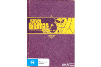 Harvey Birdman Attorney At Law Volume One - Series Region 4 DVD PREOWNED: DISC LIKE NEW