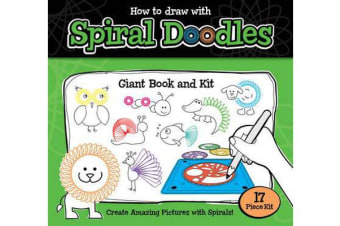 How to Draw Spiral Doodles Giant Bk Kit