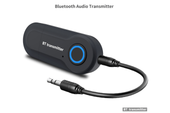 GT-09S USB Bluetooth Audio Transmitter Portable Stereo Music Adapter - Black