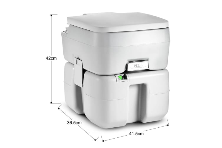 20L Portable Outdoor Camping Travel Flush Toilet Potty