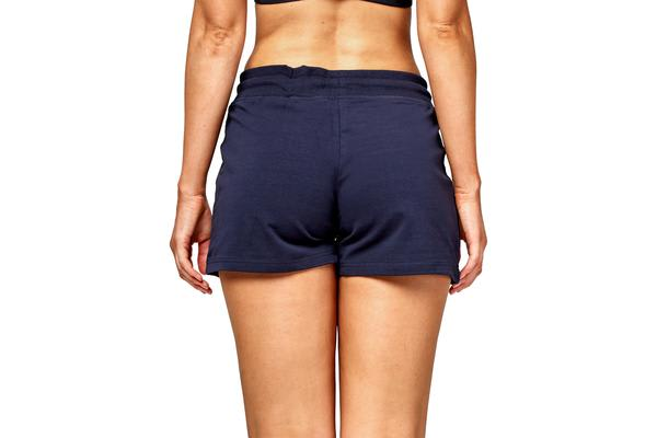 Champion Women's Essential French Terry Shorts (Navy, Size 10)