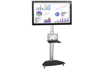 EASILIFT Dynamic Height Adjustable Portable TV Stand ideal for Interactive