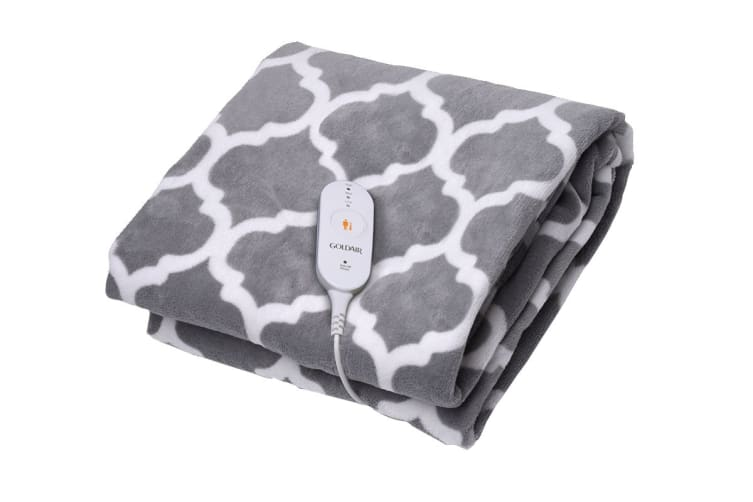 Goldair Micro Fleece Heated Throw with 3 Heat Settings - Printed (GEFT245)