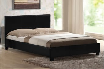 Mondeo Bed Frame (King/Black)