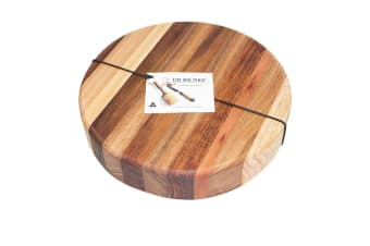 Big Chop Derwent River Round Cutting Board 33x4cm